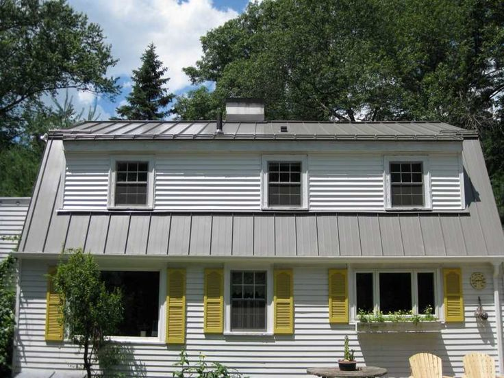 Standing Seam Is A Descriptive Industry Term For Vertical
