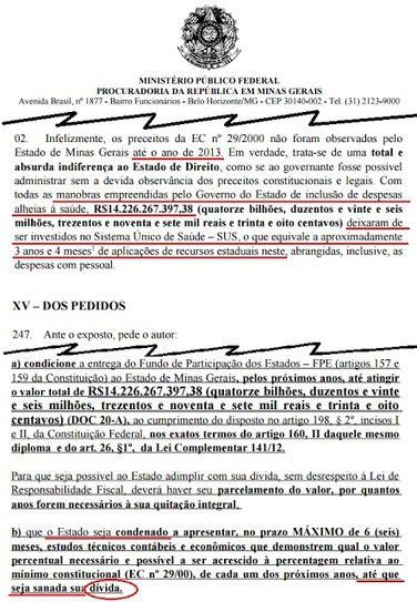 MPF CONDENA GOVERNO DO PT A PAGAR PELOS DESVIOS DE AÉCIO E ANASTÁSIA EM VERBAS DO SUS. | OS AMIGOS DO PRESIDENTELULA