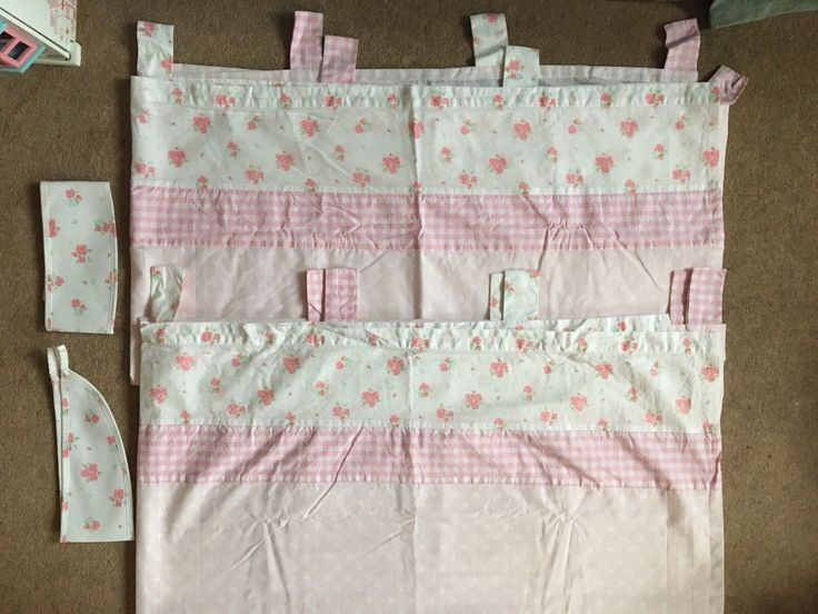 Mothercare Little Lane Girls Curtains With Tie Backs | eBay