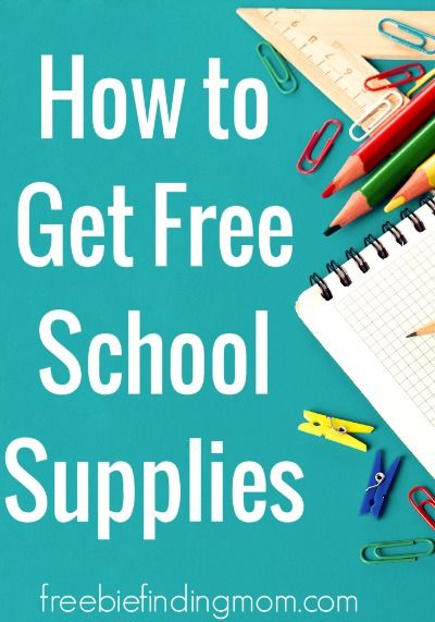How to Get School Supplies for Free or on the Cheap - Even though we are constantly being inundated with back to school deals and sales, this time of year is mighty expensive for us parents. Here I share tips on how to save money on back to school shopping.