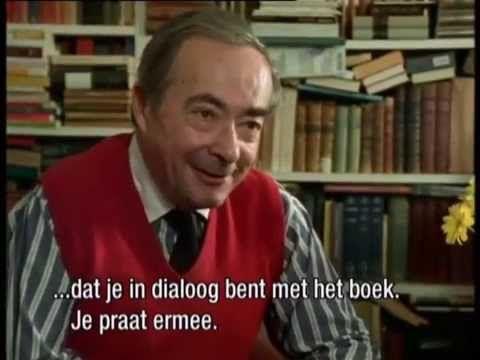 George Steiner over 'Le Philosophe Lisant' van Chardin