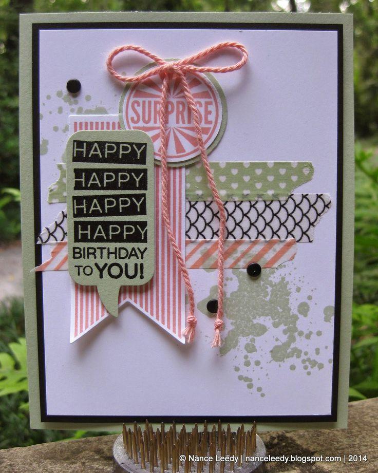 Another Amazing Birthday display sample + amazing Big Shot deals!