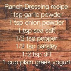 21 day fix approved Ranch!! I just made this and honestly is the best