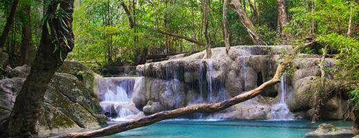 Parque Nacional de Erawan, Tailândia
