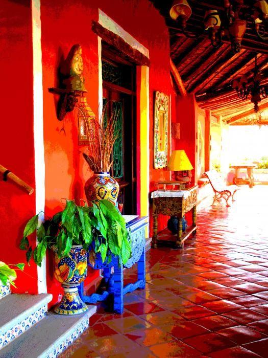 pisos de barro barnizados old mexico