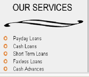 With our online payday loan services in Canada, you can borrow money without any security deposit, If you need more information regarding our loan services, Visit us at http://www.howtogetaloan.ca/services.html