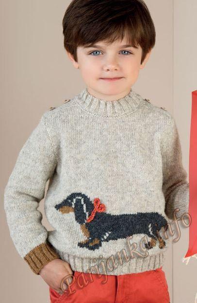 Пуловер (д) 22*111 Phildar №4286
