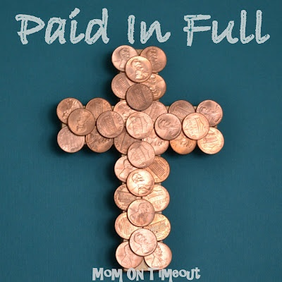 Coin-Covered Cross - Paid In Full