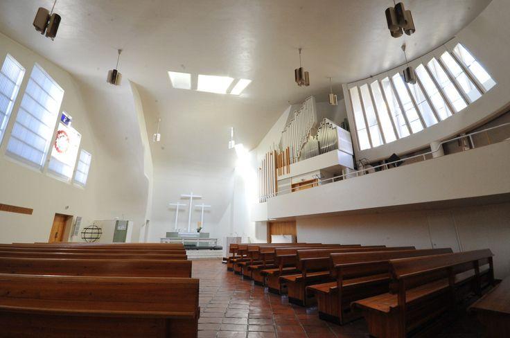 Alvar Aalto: Church of the Three Crosses, 1955-58, Imatra, Finland