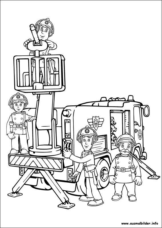 17 Best ideas about Ausmalbilder Feuerwehr on Pinterest ...