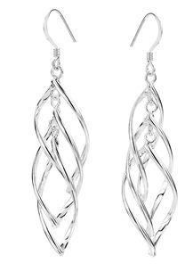 Zilveren oorbellen hangers (1014088)