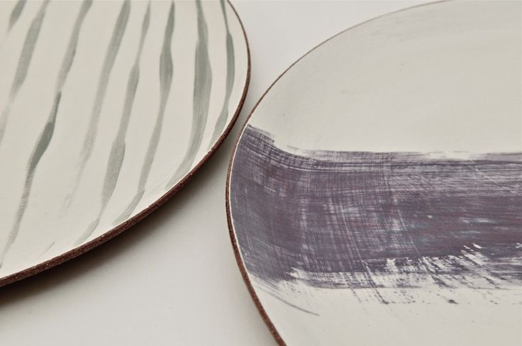 amazing colour and brush work. collection 2013 - www.silviakceramics.co.uk