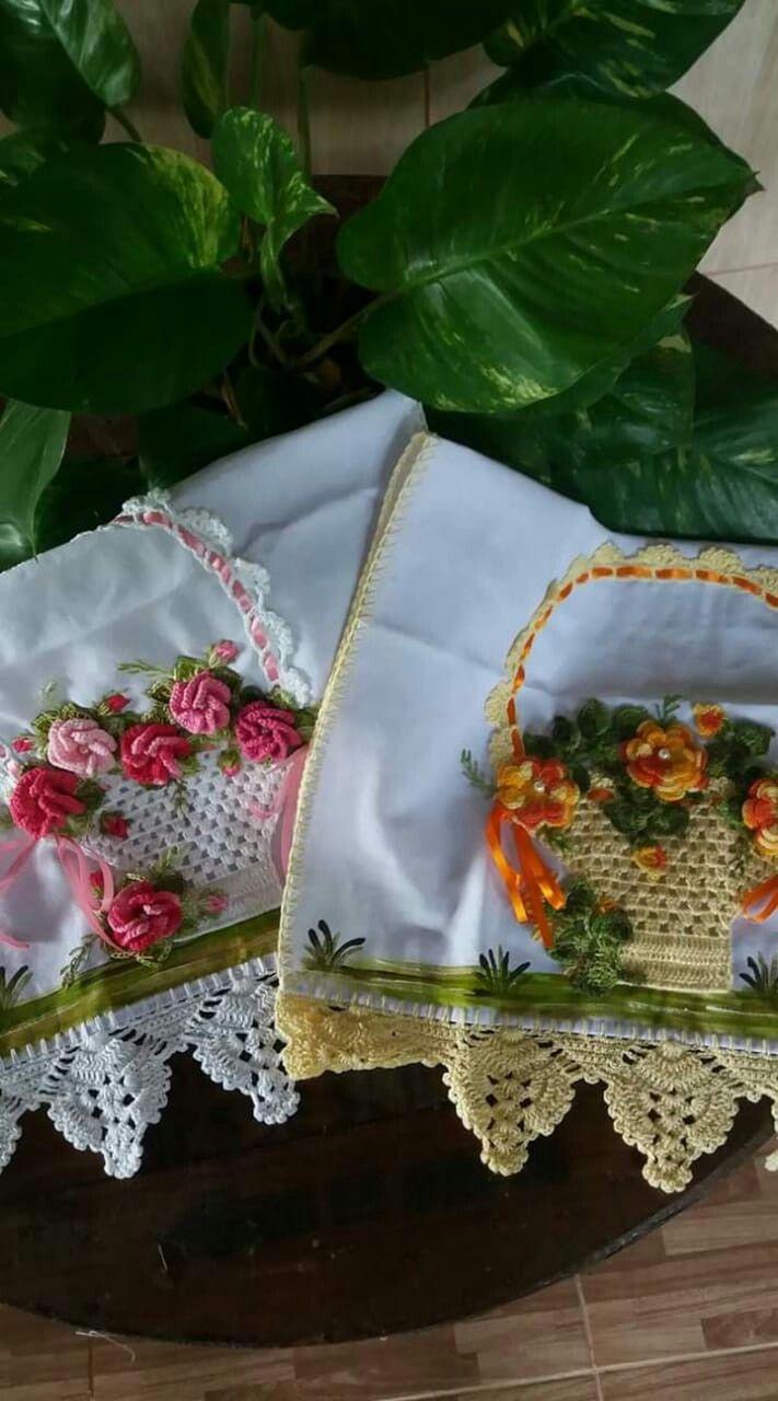 Pin De Sevim Em Kanavice Croche Pano De Prato Bicos De Croche