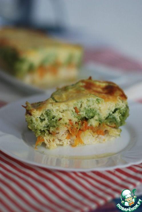 Запеканка с куриным филе и овощами - кулинарный рецепт