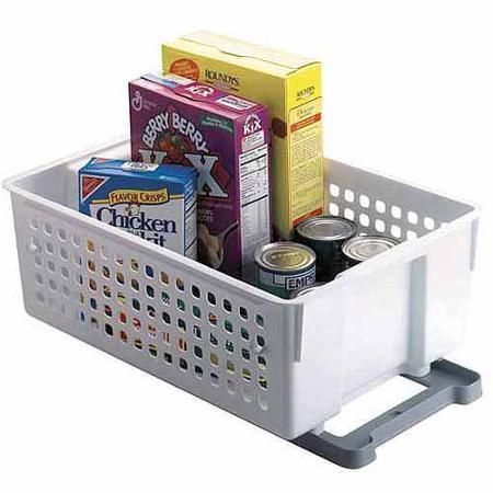 Rubbermaid 14 Quot Slide N Stack Basket White 13 97