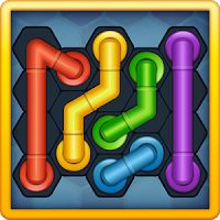 Pipe Lines Hexa 2.4.10 MOD APK Unlocked  games puzzle