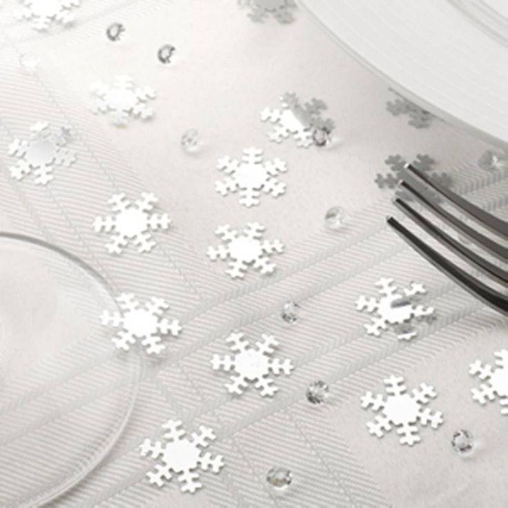 Snowflake Christmas Table Decoration