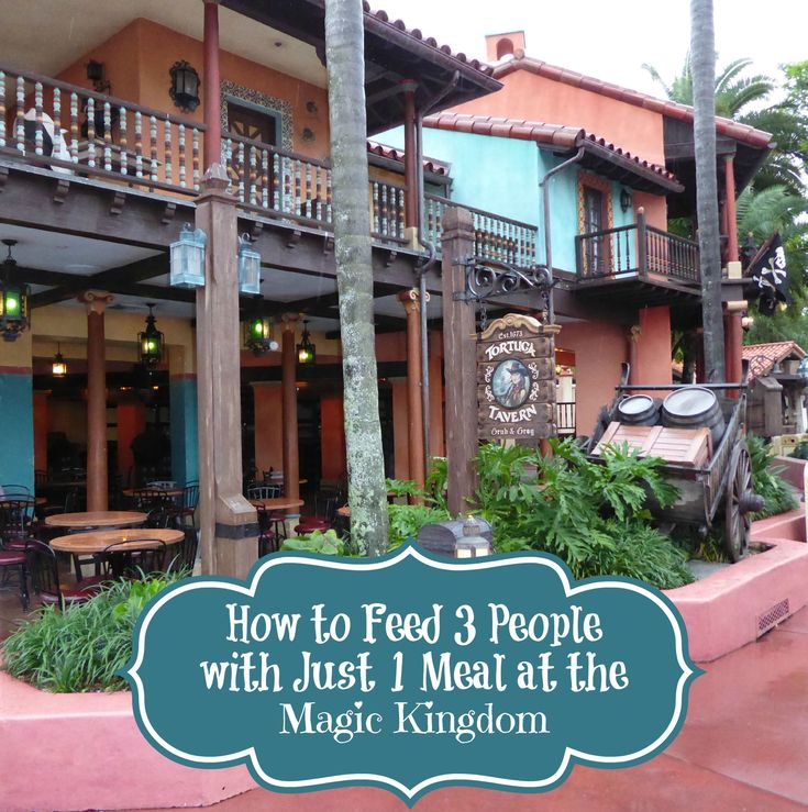 Find out how you can make one meal at Disney feed up to 3 people!