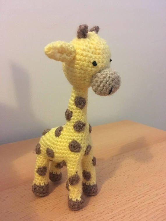 Crochet plush toy giraffe amigurumi   Amiguroom Toys   760x570