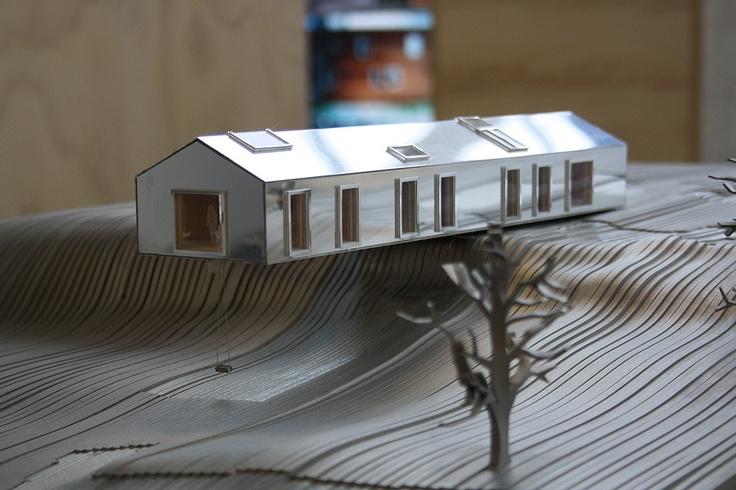 Balancing Barn By Mvrdv Architects Mvrdv Exhibition At Usm B Hl Germany Model Pinterest