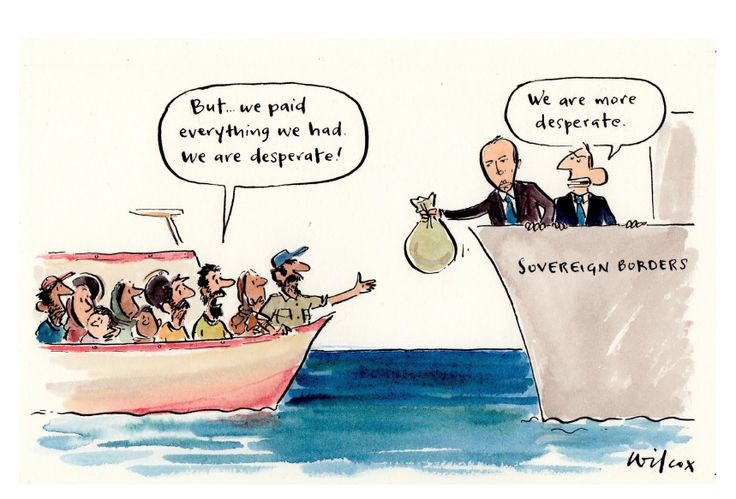 Cartoon on Operation Sovereign Borders