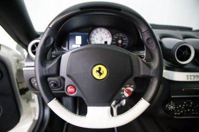 Steering Wheel 2011 #Ferrari 599 GTB Fiorano F1A White http://www.iseecars.com/used-cars/used-ferrari-for-sale  Used Ferrari for Sale: 37 Cars at $59,000 and up | iSeeCars.com