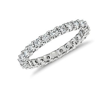 U-prong eternity band.  Simply beautiful and elegant