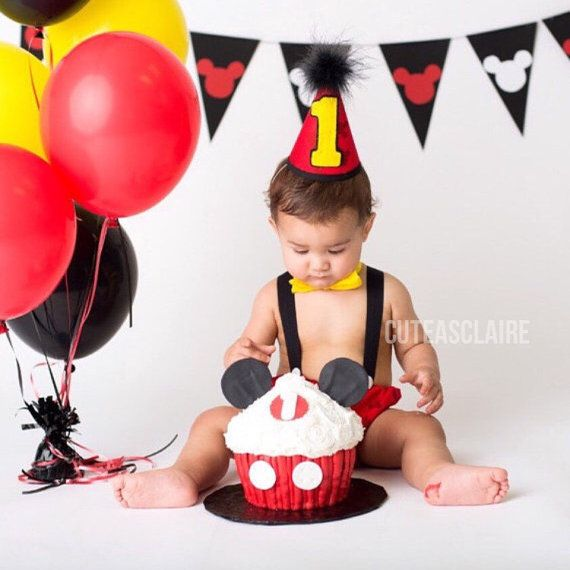 mickey mouse smash cake outfit boy disney mickey mouse cake smash birthday by 5889