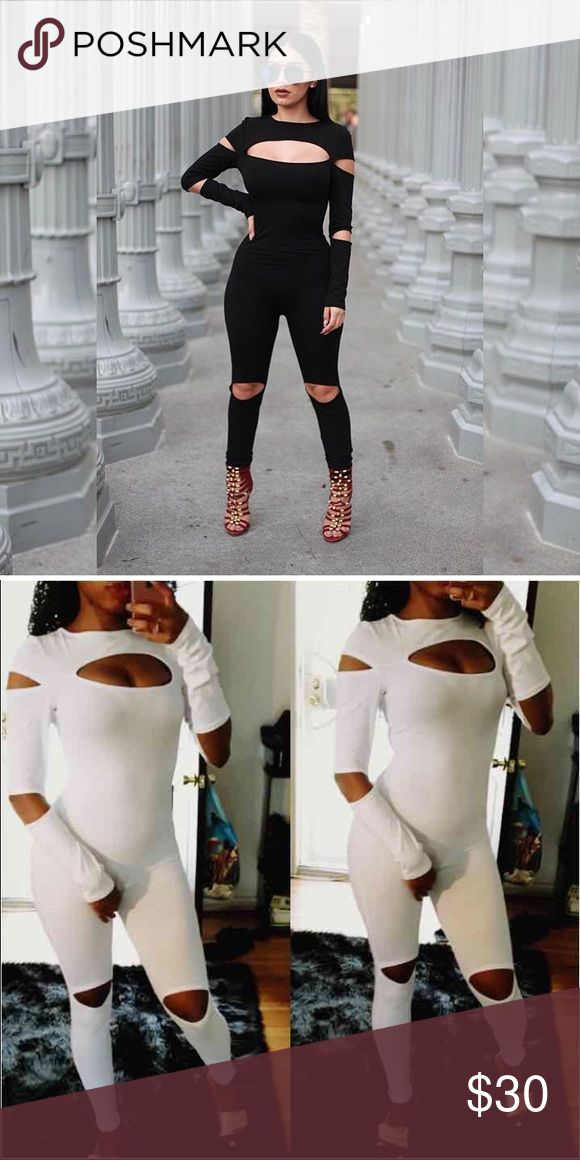 """""""Slits"""" WHITE Jumper! Available in White, brand for exposure!Tags Nasty Gal  ANGL Forever 21 Bebe Naked wardrobe  Zara  Asos Los Angeles American Apparel Misguided  Fashion Nova Brandy Melville Nasty Gal Dresses Mini"""