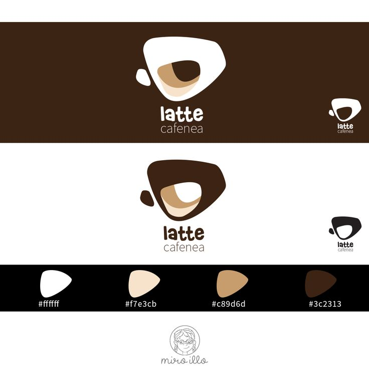 """Check out my @Behance project: """"Latte coffee shop"""" https://www.behance.net/gallery/44685729/Latte-coffee-shop"""