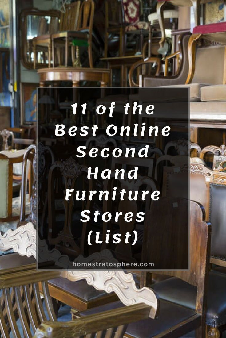 13 Of The Best Online Second Hand Furniture Stores List