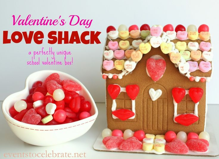 A LOVE SHACK Valentine Box for School! Events To Celebrate
