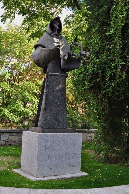 Venancio Blanco: Monumento a San Francisco de Asís. Salamanca.
