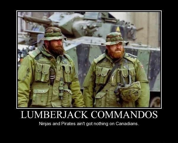 Canadian army commandos humor funny Obama is a Socialist