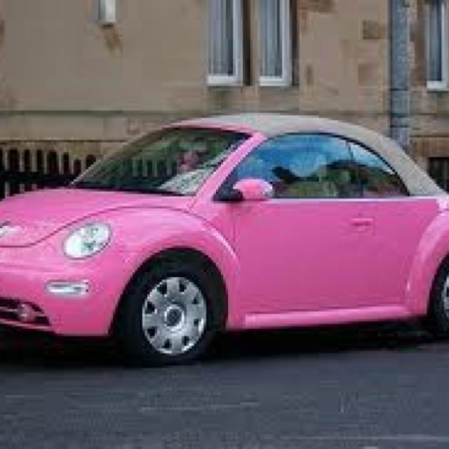 Dream car: a pink convertible slug bug! | Cars I want | Pinterest | Dream cars, Convertible and Cars