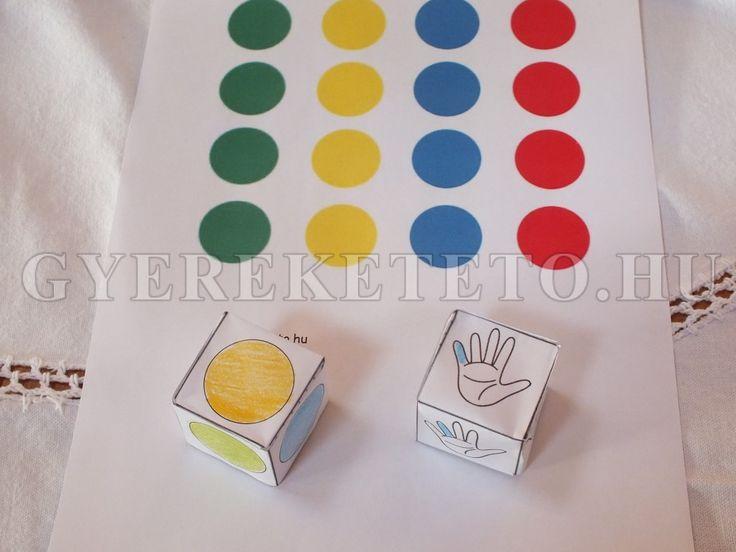 kellékek: dobókockák, játéktábla