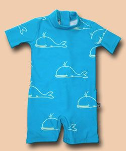 For these little ones, coverage is key.  Terrific sun/swim suits that keep little ones skin safe from the harsh rays of the sun.