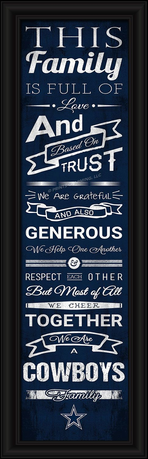 4865504867/848655048677/_A_ This full-color print features an inspiring message and lets everyone know who your family cheers for. The finished piece measures 24 x 8 inches…
