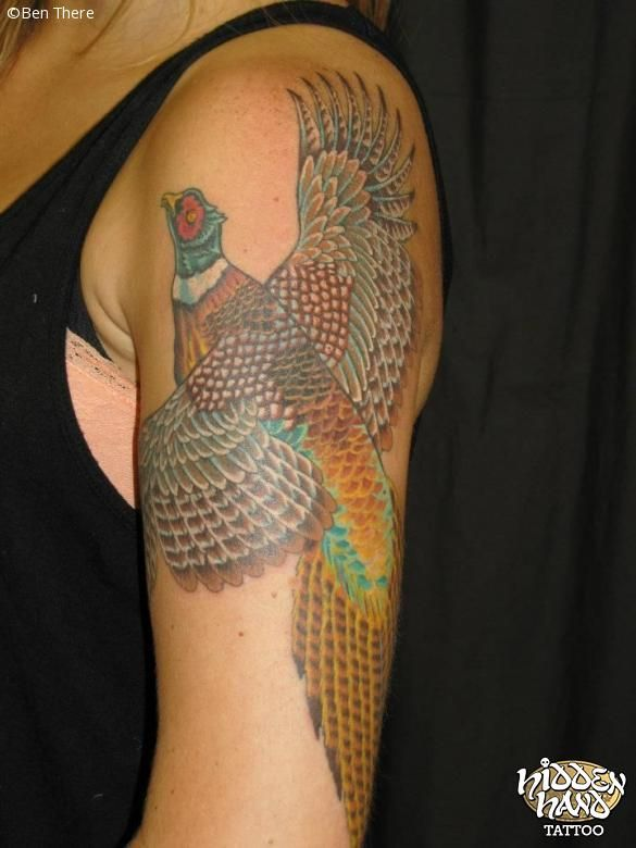 17 best images about pheasant tattoo and more tattoos on pinterest pheasant hunting single. Black Bedroom Furniture Sets. Home Design Ideas