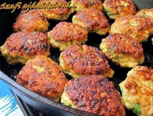 Éhezésmentes Karcsúság Szafival: Cukkini burger (paleo recept)