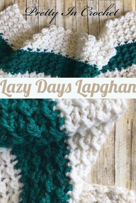 Free Pattern Lapghan Crochet Blanket Easy For Beginners On Ravelry