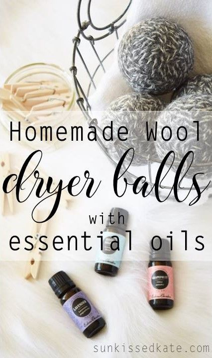 Wool Dryer Balls | Homemade | Essential Oils | Easy DIY | Non-Toxic Laundry Solutions | Natural