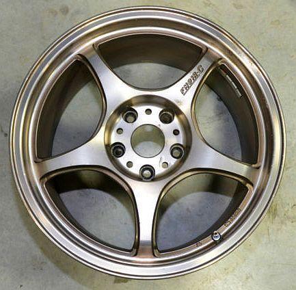 5 Zigen Rims Pre Owned Fn01r C 17 Inch Racing Wheels