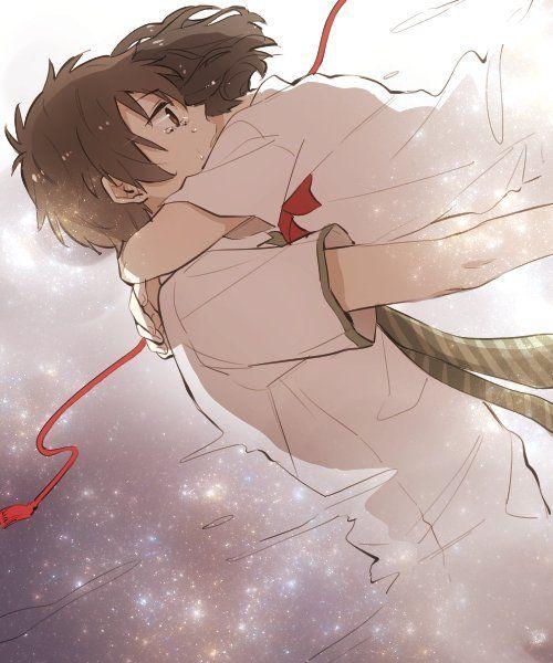 Taki ღ Mitsuha - By Makoto Shinkai