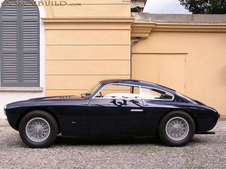 1954 Maserati Zagato - what an interesting car. I bet it would be a blast to drive.