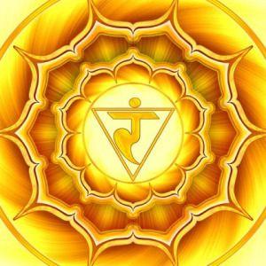 """Seu nome, em sânscrito, é Manipura, que significa """"Repleto de Jóias"""". Sua cor é o Amarelo ou, em um plano mais sutil, o Dourado. Seu mantra é RAM Regido pelo Sol e pelo Elemento …"""