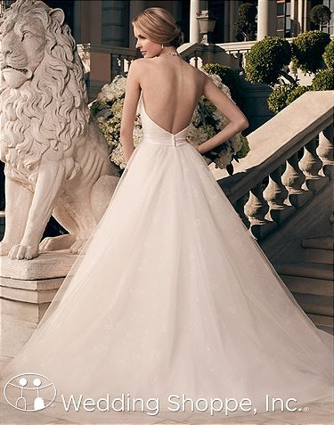 Casablanca Bridal Gown 2177  I love the Back on this gown