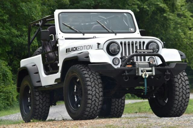 Restomod Jeep CJ