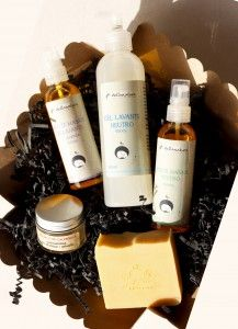 Organic Baby  Deluxe Gift Box./ CAJA REGALO PRODUCTOS ORGÁNICOS PARA BEBES.