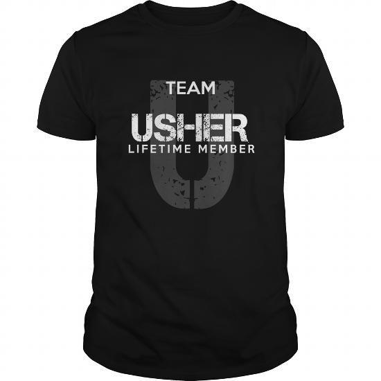 USHER T Shirts, Hoodies. Get it now ==► https://www.sunfrog.com/LifeStyle/USHER-93987402-Black-Guys.html?41382